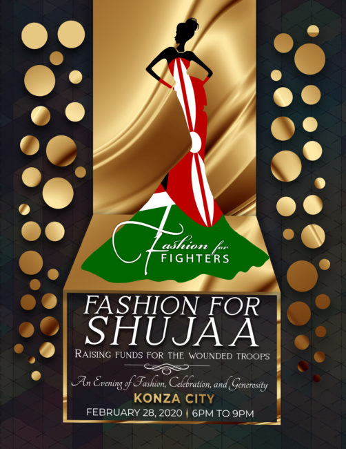 Fashion for Shujaa Invitation